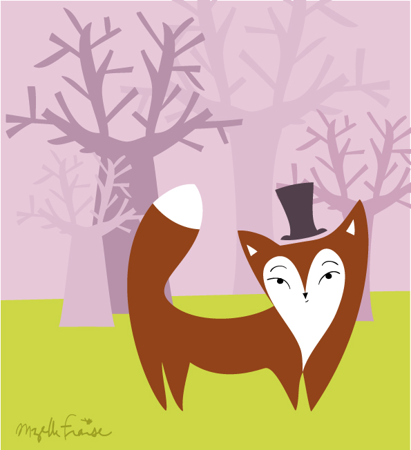 le renard et la forêt