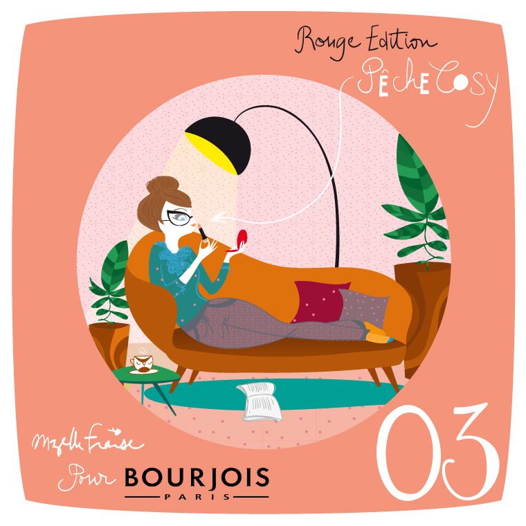mzellefraise bourjois peche cosy LA question.