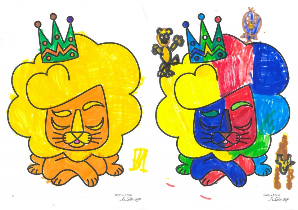 coloriages-lion