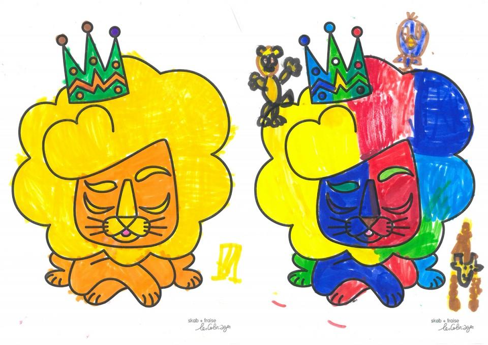 coloriages-lion