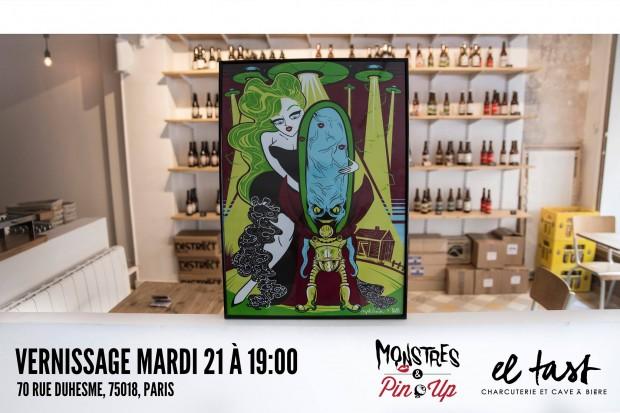 expo monstres & pin-up el tast