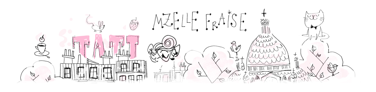 Mzelle Fraise illustratrice