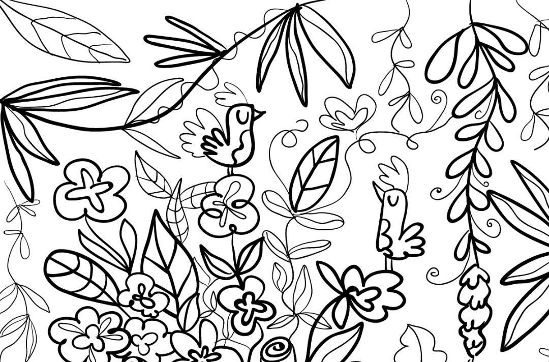 coloriage-printemps-mzellefraise