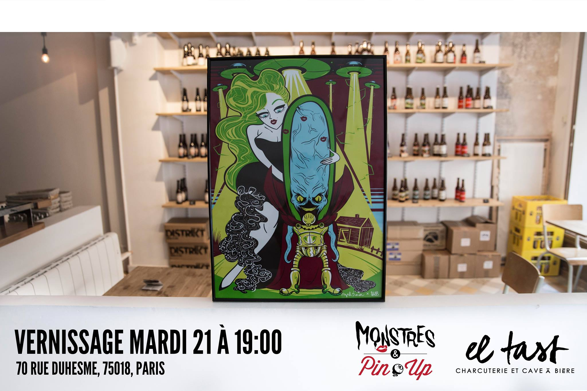 expo monstres & pin-up el tast